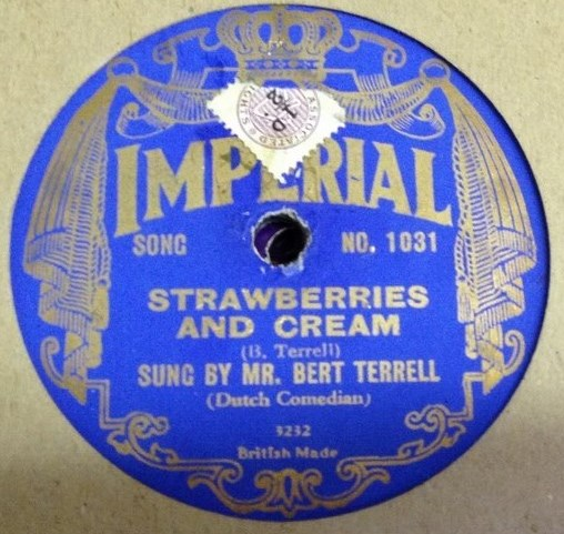 Bert Terrell - Strawberries & Cream - Imperial 1031