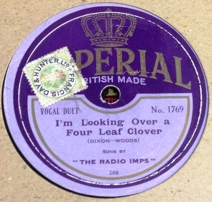 The Radio Imps - I'm looking four Leaf clover - Imperial 1769