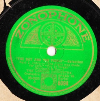 London Orchestra - The Cat & The Fiddle - Zonophone 6094