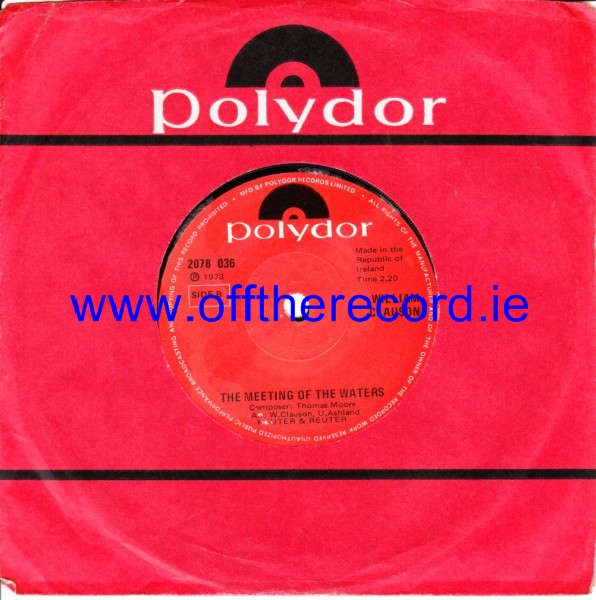 William Clauson - I dont mind if I do - Polydor Irish 4246