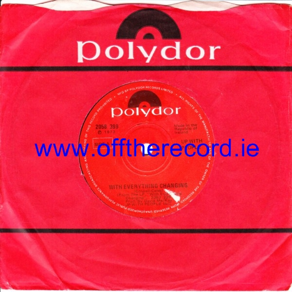 Up with People - With everything Changing - Polydor Irish 4247
