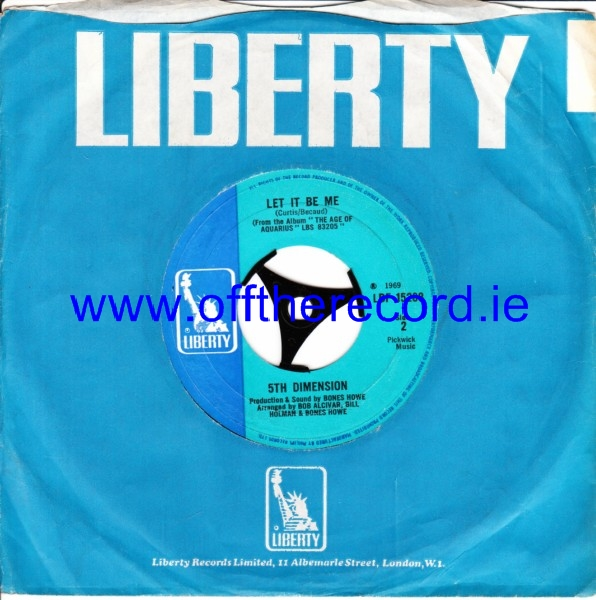 5th Dimension - Wedding Bell Blues - Liberty 4248