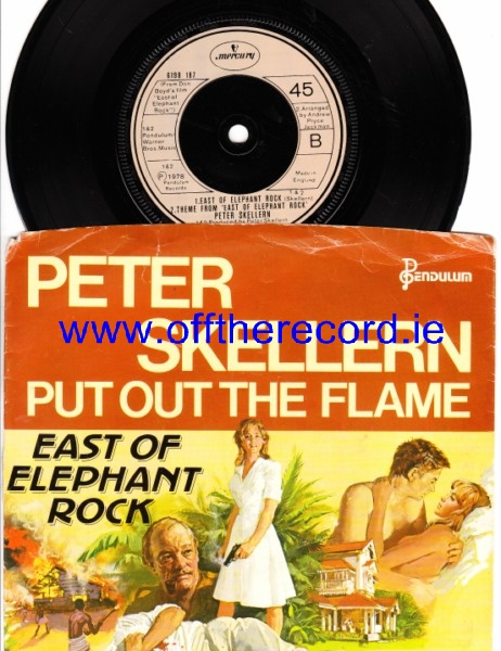 Peter Skellern - Put out the Flame - Mercury UK 4316