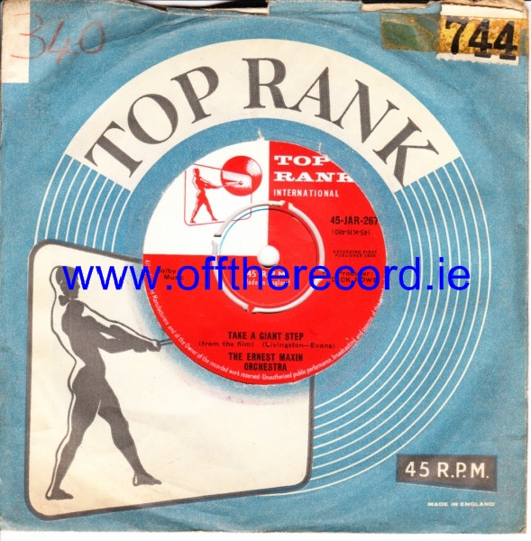 Ernest Maxin - On the beach - Top Rank UK 4317
