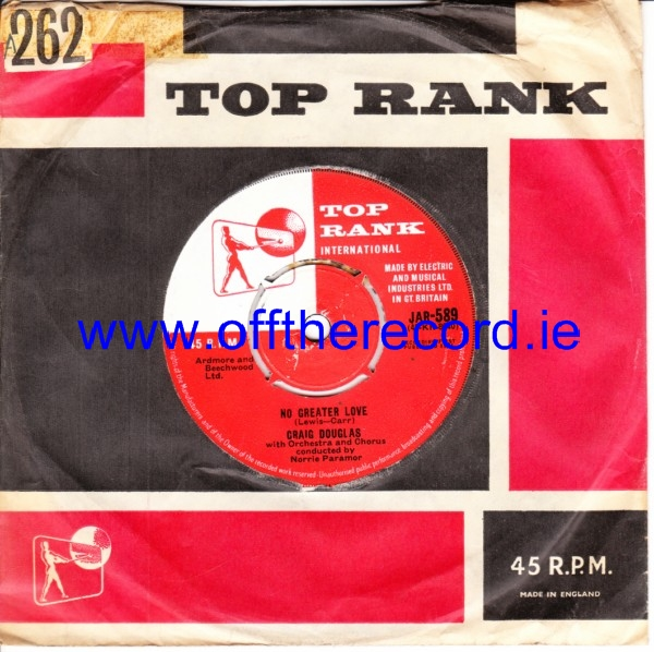 Craig Douglas - We'll have lot to tell Children - Top Rank 4319