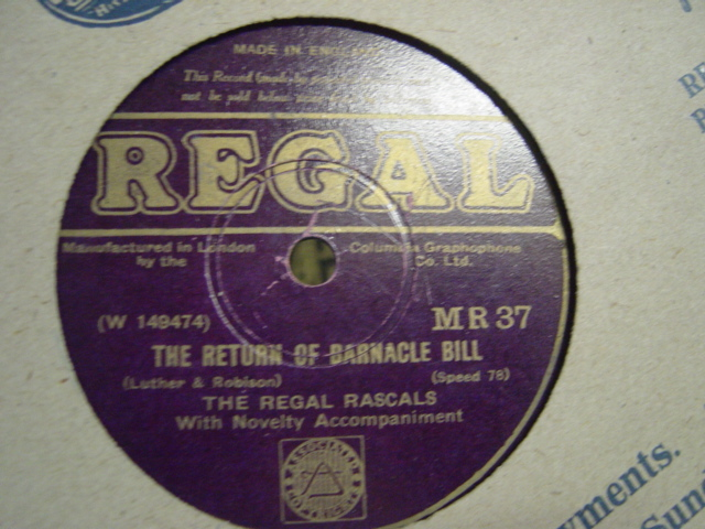 Regal Rascals - The Return of Barnacle Bill - Regal MR.37