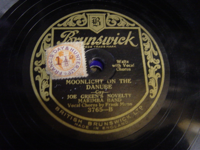 Joe Green's Mirimba Band - That Melody of Love - Brunswick 3765