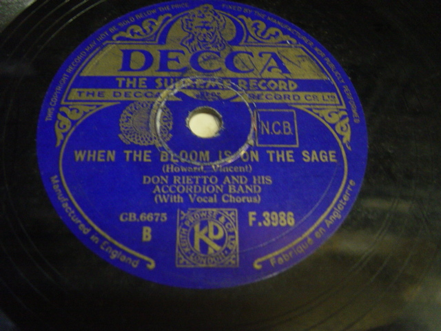 Vera Lynn - I'll think of you - Decca F.7962 UK