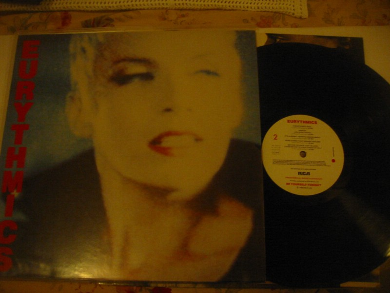EURYTHMICS - BE YOURSELF TONIGHT - RCA GERMANY 1985