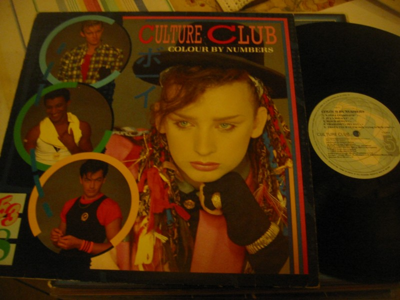 CULTURE CLUB - COLOUR BY NUMBERS - VIRGIN UK 1983