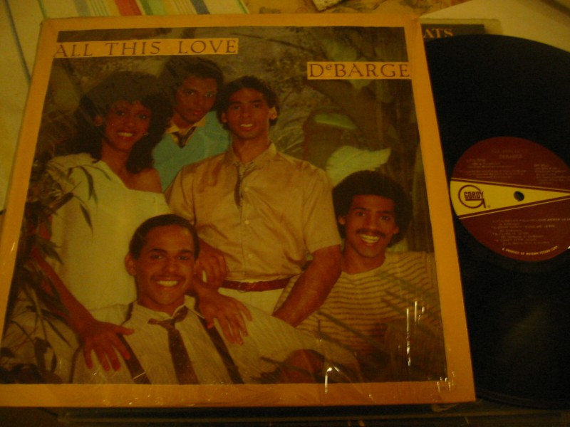 DeBARGE - ALL THIS LOVE - GORDY USA 1982