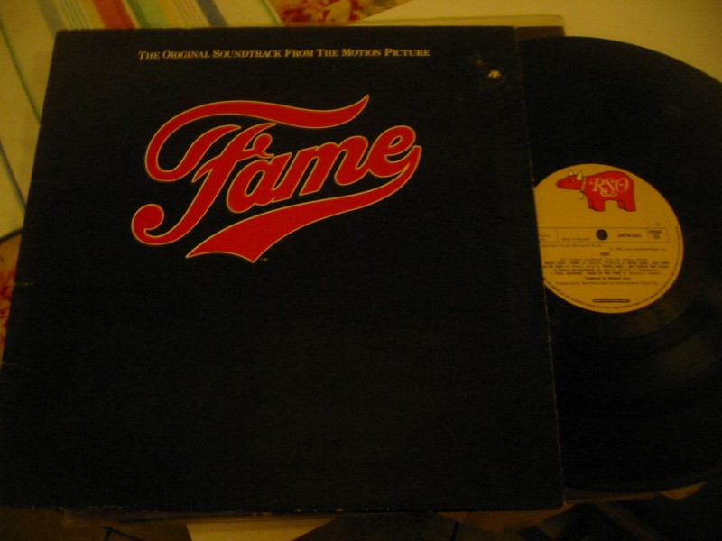 FAME - SOUNDTRACK - RSO UK 1980