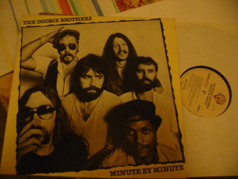 DOOBIE BROTHERS - MINUTE BY MINUTE - WARNER GERMANY 1977