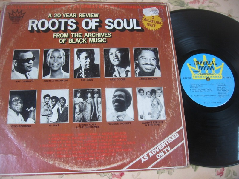 VARIOUS - ROOTS OF SOUL - 3LP IMPERIAL HOUSE