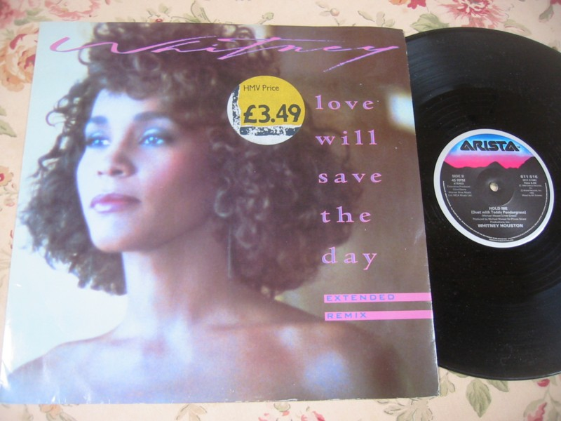WHITNEY HOUSTON - LOVE WILL SAVE THE DAY - ARISTA 12""
