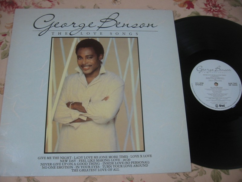 GEORGE BENSON - THE LOVE SONGS - K TEL - 1985