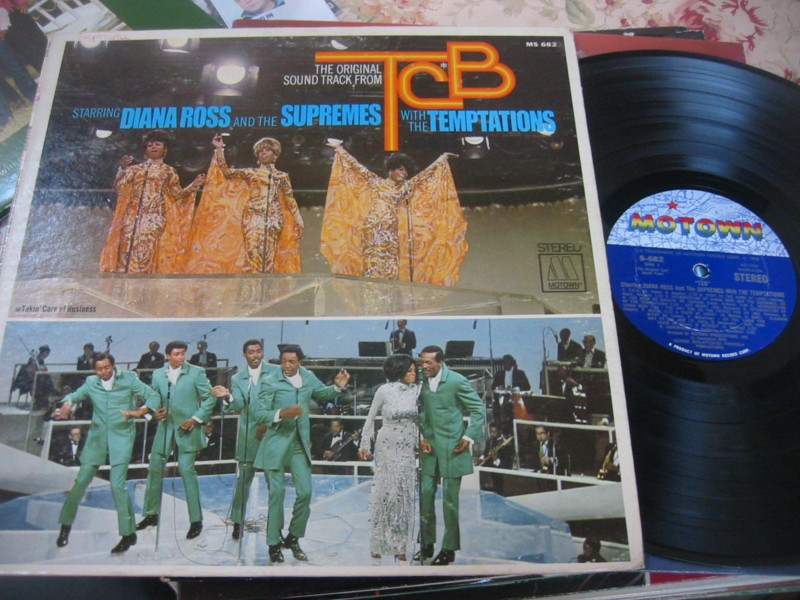 DIANA ROSS & SUPREMES & TEMPTATIONS - TCB MOTOWN