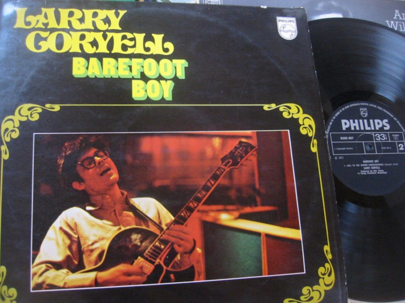 LARRY CORYELL - BAREFOOT BOY - PHILIPS 1971