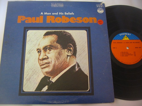 PAUL ROBESON - A MAN & HIS BELIFES - EVEREST - MV 14