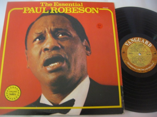 PAUL ROBESON - THE ESSENTIAL - VANGUARD 2LP SET - MV 16