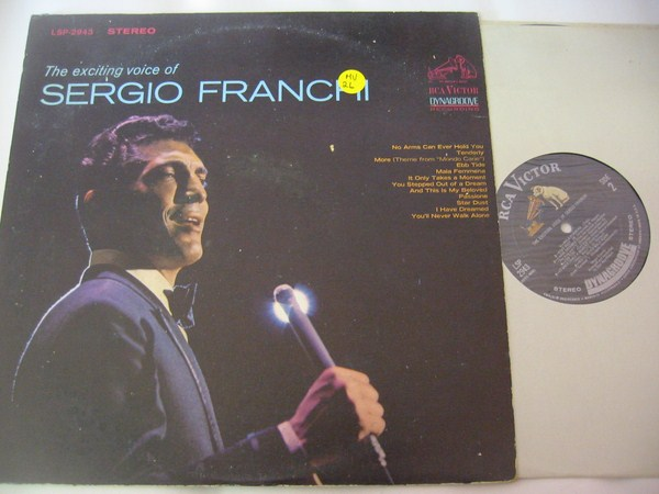 SERGIO FRANCHI - EXCITING VOICE OF - RCA - MV 26