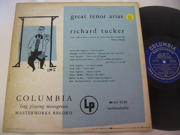 RICHARD TAUBER - GREAT ARIAS - COLUMBIA - MV 28