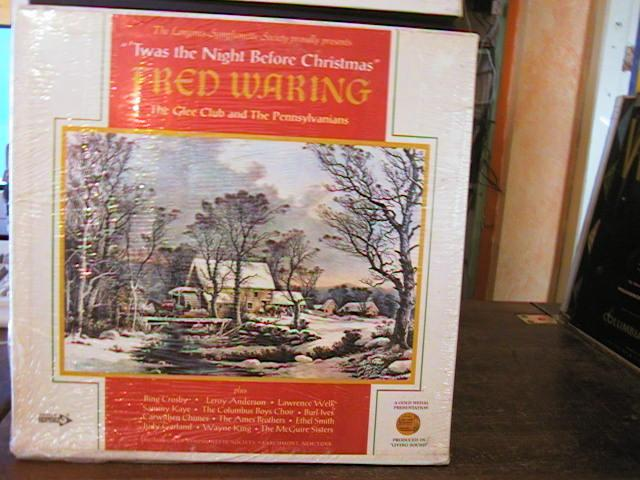 FRED WARING - NIGHT BEFORE CHRISTMAS - SEALED 4 LP { R 134