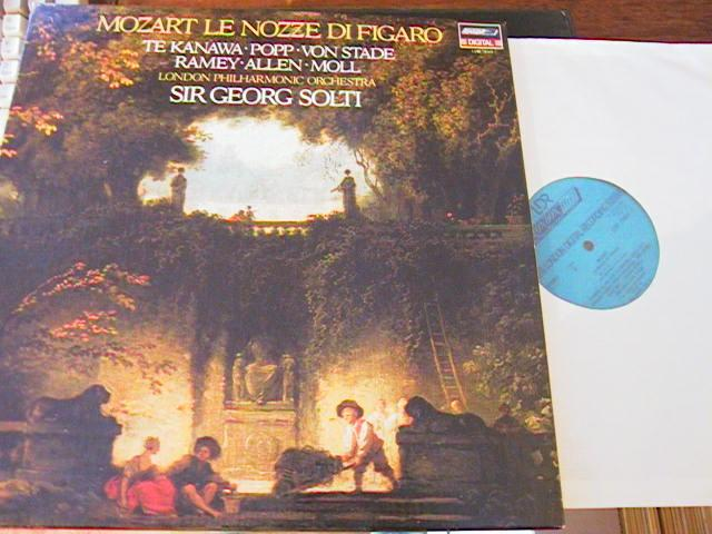 MOZART - MARRIAGE FIGARO - SOLTI - LONDON { R 106