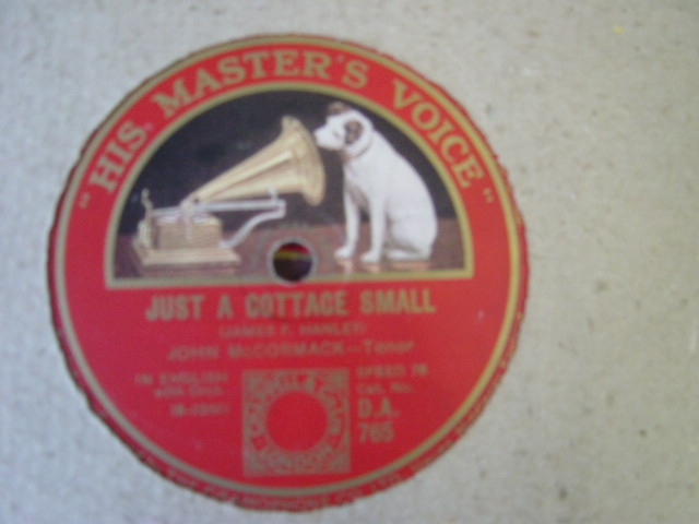 John McCormack - Mother my dear - HMV DB.765 Ex