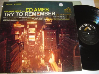 ED AMES - TRY TO REMEMBER - RCA 240