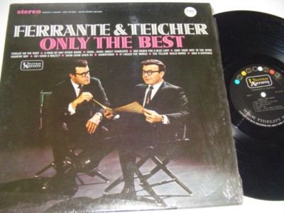 FERRANTE & TEICHER - ONLY THE BEST - UA { 275