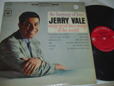 JERRY VALE - LANGUAGE OF LOVE - COLUMBIA 291