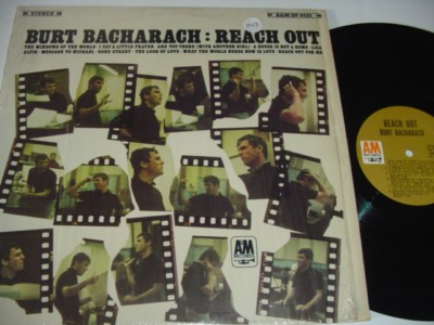 BURT BACHARACH - REACH OUT - A & M { 247
