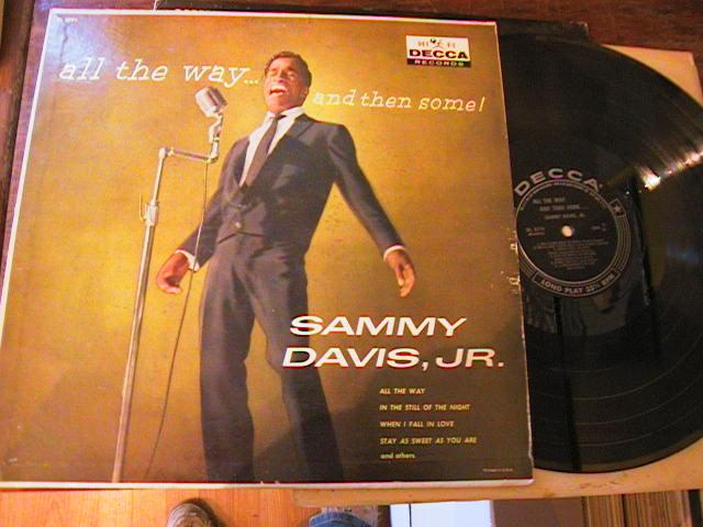 SAMMY DAVIS Jnr - ALL THE WAY - DECCA { M 108