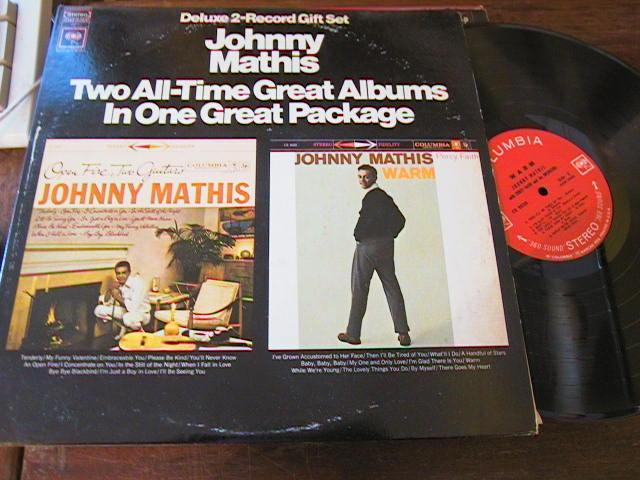 JOHNNY MATHIS - 2 LP SET - COLUMBIA { MV 94