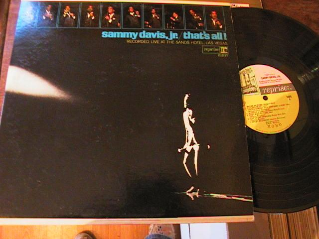 SAMMY DAVIS Jnr - THATS ALL 2LP - REPRISE { M 107