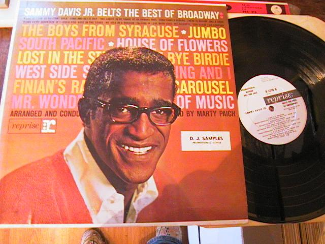 SAMMY DAVIS Jnr - BELTS BROADWAY - REPRISE PROMO { M 105