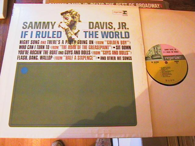 SAMMY DAVIS Jnr - IF RULED WORLD - REPRISE { M 104