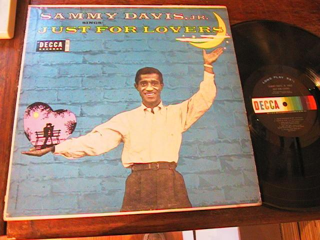 SAMMY DAVIS Jnr - JUST FOR LOVE - DECCA { M 103