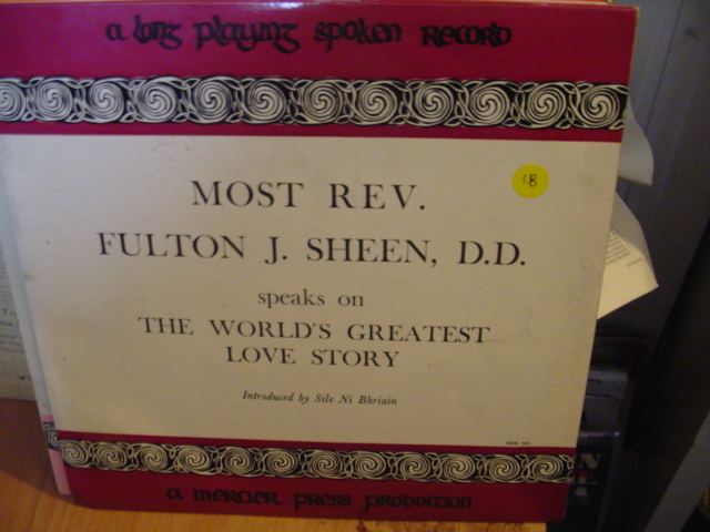 MER 20 - REV, FULTON J SHEEN D.D. - MERCIER PRESS