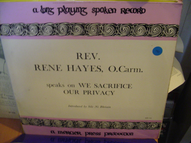 MER 26 - REV RENE HAYES & SIS. MARIE ALOYSIUS - MERCIER PRESS