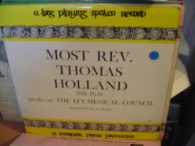 MER 05 - REV THOMAS HOLLAND & POPE JOHN XXIII - MERCIER PRESS