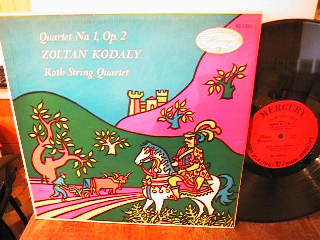 LIVING PRESENCE MONO - KODALY STARKER CELLO - MG 80004