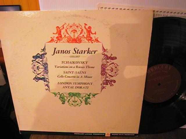 LIVING PRESENCE MONO - JANOS STARKER CELLO - MG 50409