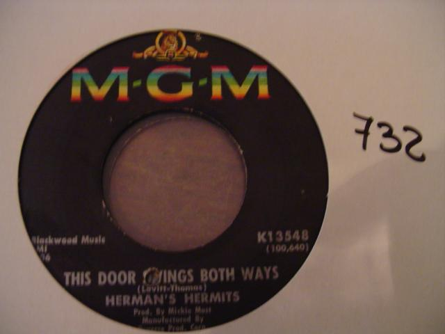 HERMANS HERMITS - FOR LOVE - MGM - K 13548 # 2421