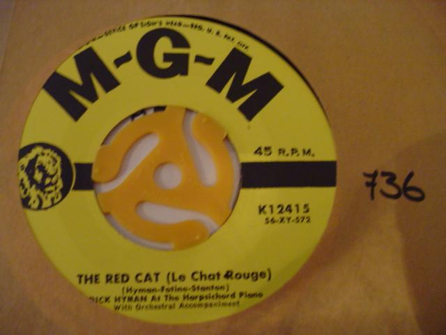 DICK HYMAN - THE RED CAT - MGM K 12415 # 2423