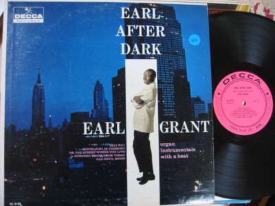EARL GRANT - EARL AFTER DARK - DECCA - PM 129