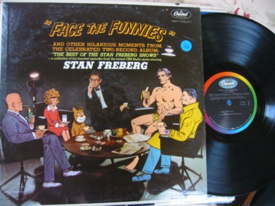 STAN FREBERG - FACE THE FUNNIES - CAPITOL - PM 130