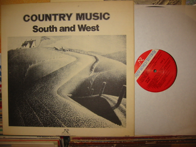COUTRY MUSIC / SOUTH and WEST { J 976