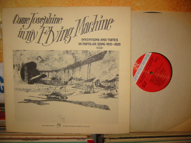 COME JOSEPHINE IN MY FLYING MACHINE- POPULAR 1910-29 - J 941